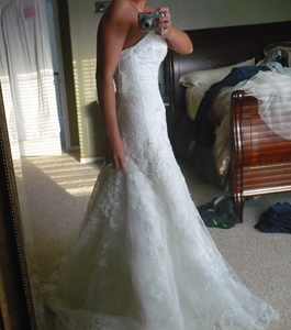 Botched alterations for Off the rack wedding dresses near me