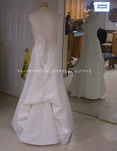 Bustles for Wedding dress train bustle