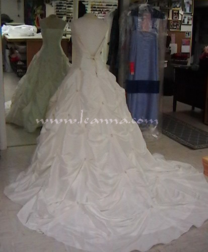 Wedding Dress Types Of Bustles - Wedding Gown Dresses