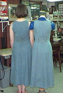 Double & Me, Back View